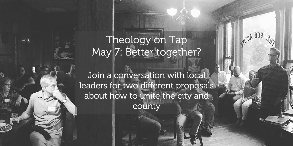 "Tuesday May 7: ""Better Together?"""